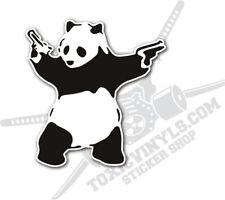 JDM Banksy panda with guns graffiti sticker decal JDM jap drift car sticker