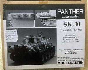 ModelKasten 1/35 Scale Panther Late Model Track Set. (workable)