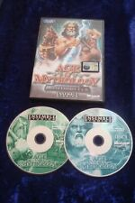 PC CD ROM MICROSOFT.AGE OF MYTHOLOGY.ENSEMBLE.COMPLETE INSTRUCTIONS 2 DISC GAME