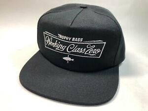 Working Class Zero Tradition Hat Free size Black