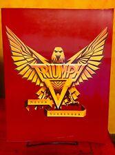 Triumph 1983 Never Surrender Tour Book Concert Program  ( RUSH )