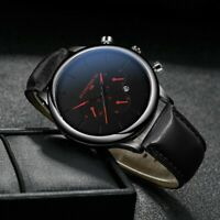Men Fashion Military Stainless Women Steel Analog Date Sport Quartz Wrist Watch