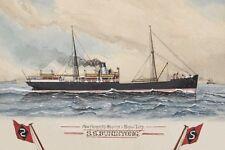 BUNINYONG of Howard Smith & Sons, Melbourne Watercolour Modern Digital Postcard