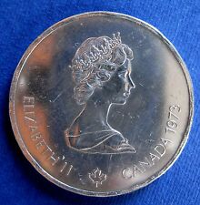1976 Canada 10 Dollars Coin Silver  Olympics Montreal