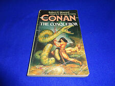 CONAN THE CONQUEROR  BY  ROBERT E. HOWATD - SMALL PB BOOK!!