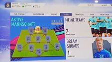 Fifa 19 Account Ultimate Team Xbox ONE 1 Mio Coins und C.Ronaldo Tauschbar
