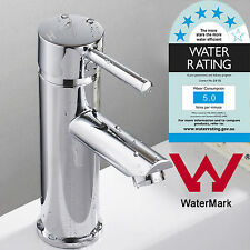 Round Watermark Polished SPA PIN Cabinet Bath tub Spout Faucet Basin Mixer Tap