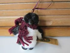 Boyds Penguin Plush Ornament-Chilly Frostbite