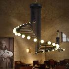 Black Chandelier Lighting Bar LED Lamp Large Pendant Light Modern Ceiling Lights
