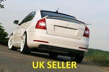 SKODA OCTAVIA RS MK2 REAR/BOOT SPOILER (2005-2012) >ABS PLASTIC<