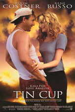 """TIN CUP Movie POSTER 27x40 Kevin Costner Don Johnson Rene Russo Richard """"Cheech"""""""