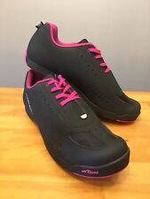 New! Louis Garneau Women's Urban Cycling Shoes Black / Pink Sizes 8, 9, 11.5