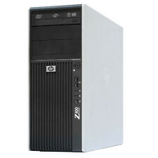 HP Z400 Workstation Xeon X5650 Hexa-core RAM 6GB nvs300 120GB SSD 1tb Hdd Win7