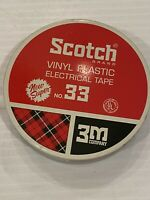 Vintage Scotch Vinyl Plastic Electrical Tape Tin No.33 By 3M TIN ONLY