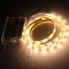 Waterproof RGB Multicolor Battery Powered Led Flexible Light Strip Lamp 50-200cm