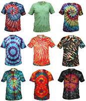 Tie Dye T Shirt Music Festival Tye Dye Tee Hipster Retro Unisex Short Sleeve Top