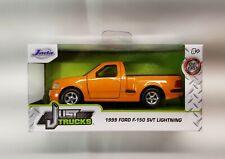 1999 Ford F150 Svt Lightning Orange Just Trucks Diecast 1/32 1:32 Jada Toys New