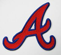 "LOT OF (1) MLB ATLANTA BRAVES EMBROIDERED PATCH PATCHES (4"" X 3 1/2"") ITEM # 54"