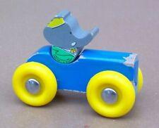 BABAR VILAC L. BRUNHOFF voiture bois 1989 ancien jeu jouet vintage
