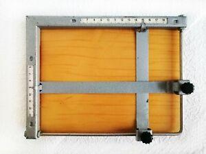 """Darkroom Easel Mask 9x7"""" (23x18 cm) Masking Frame Enlarger Photography Equipment"""