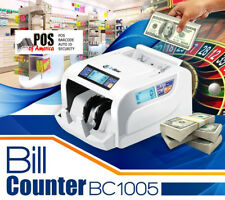 3nStar BC1005 Money Bill Counter two Counter Display 2 UV Polymer and Paper bill