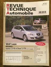 Revue Technique Automobile SEAT Leon Essence 2,0 FSi et Diesel 2,0 TDi 8 et 16s