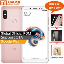 "5.99"" Xiaomi Redmi Note 5 3Go/32Go 4G Téléphone Snapdragon 636 4000mAh Or rose"