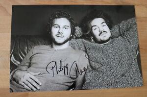 ORIGINAL Autogramm von Milky Chance. pers gesammelt. 20x30 Foto. 100% ECHT