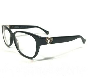 Coach Sunglasses Glasses Frames Cat Eye Rhinestones HC6038 (Amara) 5002 (Black)