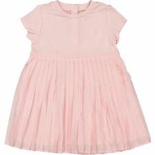 Ralph LAUREN Bebé Niñas Vestido Plisado Camiseta's 2pc Rosa y Pantalones Set, 24 meses