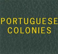 Scott Series LABEL For Portuguese Colonies Binder Gold Lettering Stamp Album NEW