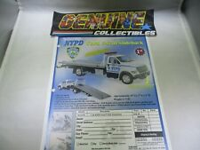 First Gear Color Order Forms NYPD FORD F-650 SLIDEBACK DIECAST TRUCK 18-3178