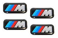 Genuine set of 4 BMW M Badges for wheels 36112228660