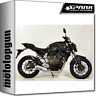 SPARK ESCAPE COMPLETO FORCE RACING INOX YAMAHA MT 07 2014 14 2015 15 2016 16