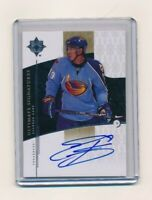 2009-10 Ultimate Collection Signature #US-EK Evander Kane Atlanta Thrashers Auto