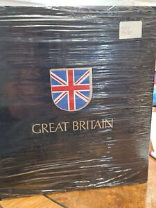 LIGHTHOUSE Binder  Great Britain leaves 1840-1986 New