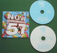 Now 57 Britney Kylie Katie Melua Blue Snow Patrol Joss Stone Keane + 2 x CD