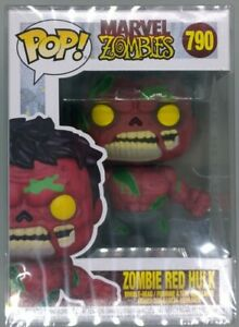 #790 Zombie Red Hulk - Marvel Zombies - Funko POP - Includes POP Protector