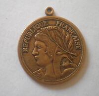 République Française médaille PIÈCE DE MONNAIE,French Republic coin medal France