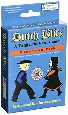 Dutch Blitz Blue Deck Vonderful Goot Family Card Game Party Expansion Pack