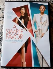 SIMPLE FAVOR DVD Delicious Thriller Anna Kendrick Blake Lively Henry Golding USA