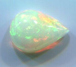 Stunning Natural Ethiopian Welo Opal Polished Gemstone 1.95 carats 11mm x 8mm