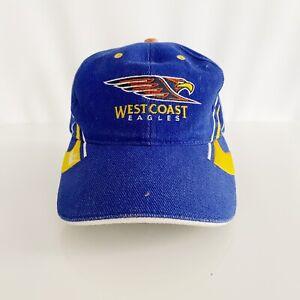 West Coast Eagles Puma Vintage AFL Football Youth Boys Cap Hat