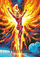 PHOENIX / 1992 Marvel Masterpieces BASE Trading Card #67 Art by JOE JUSKO
