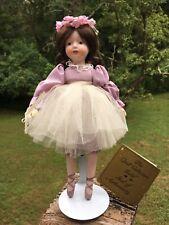 "Seymore Mann ""Ballerina"" Porcelain Doll Vintage 1985 Collectible 10"" Tall"
