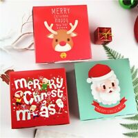 1 x Christmas Design  Paper Box Gift Wrap Candy Box Storage Chocolate Pack