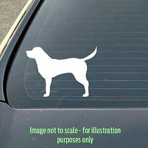 120mm Labrador dog silhouette decal for a car / caravan / truck / toolbox