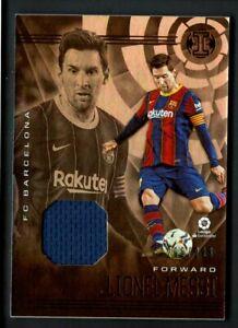 Lionel Messi 2020-21 Panini Chronicles Illusions LA Liga Memorabilia Jersey /299