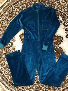Vintage 80's Velour Jumpsuit