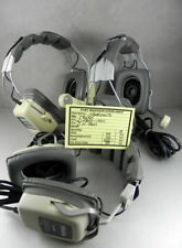 TELEX Aviation Pilot Headsets Two EBM-1410 and one H-960